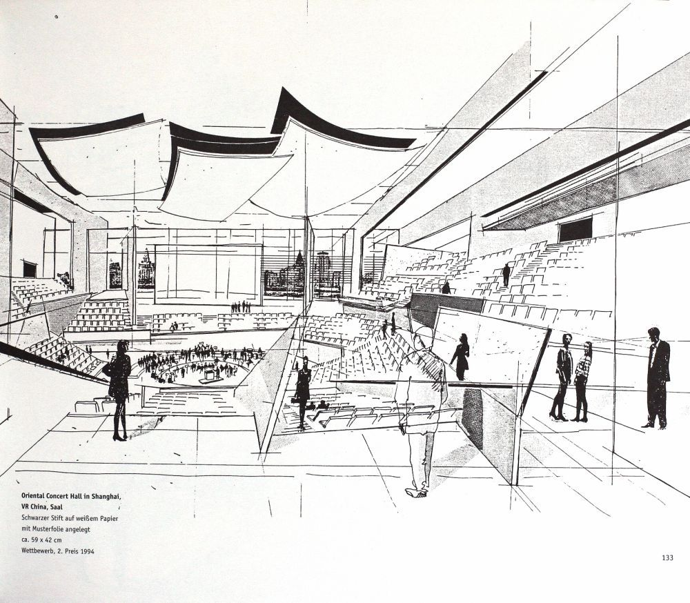 100 Architectural Drawings by Famous Architects V 1