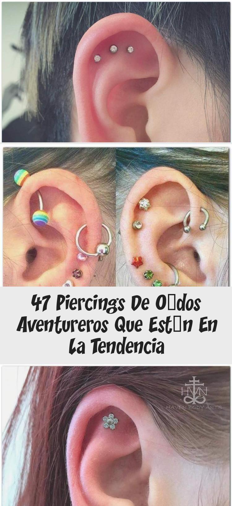 47 Piercings De Oídos Aventureros Que Están En La Tendencia