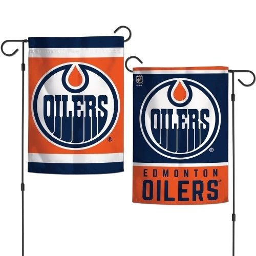 new concept 7acd3 fc49d Edmonton Oilers Garden Flag 2 Sided NHL in 2019 | Products ...