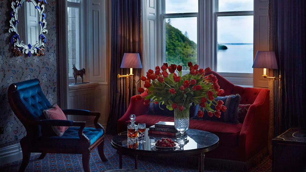 Luxury Hotel Stateroom  Ashford Castle Hotel, Co. Mayo in 2020  Ashford castle hotel, Ashford