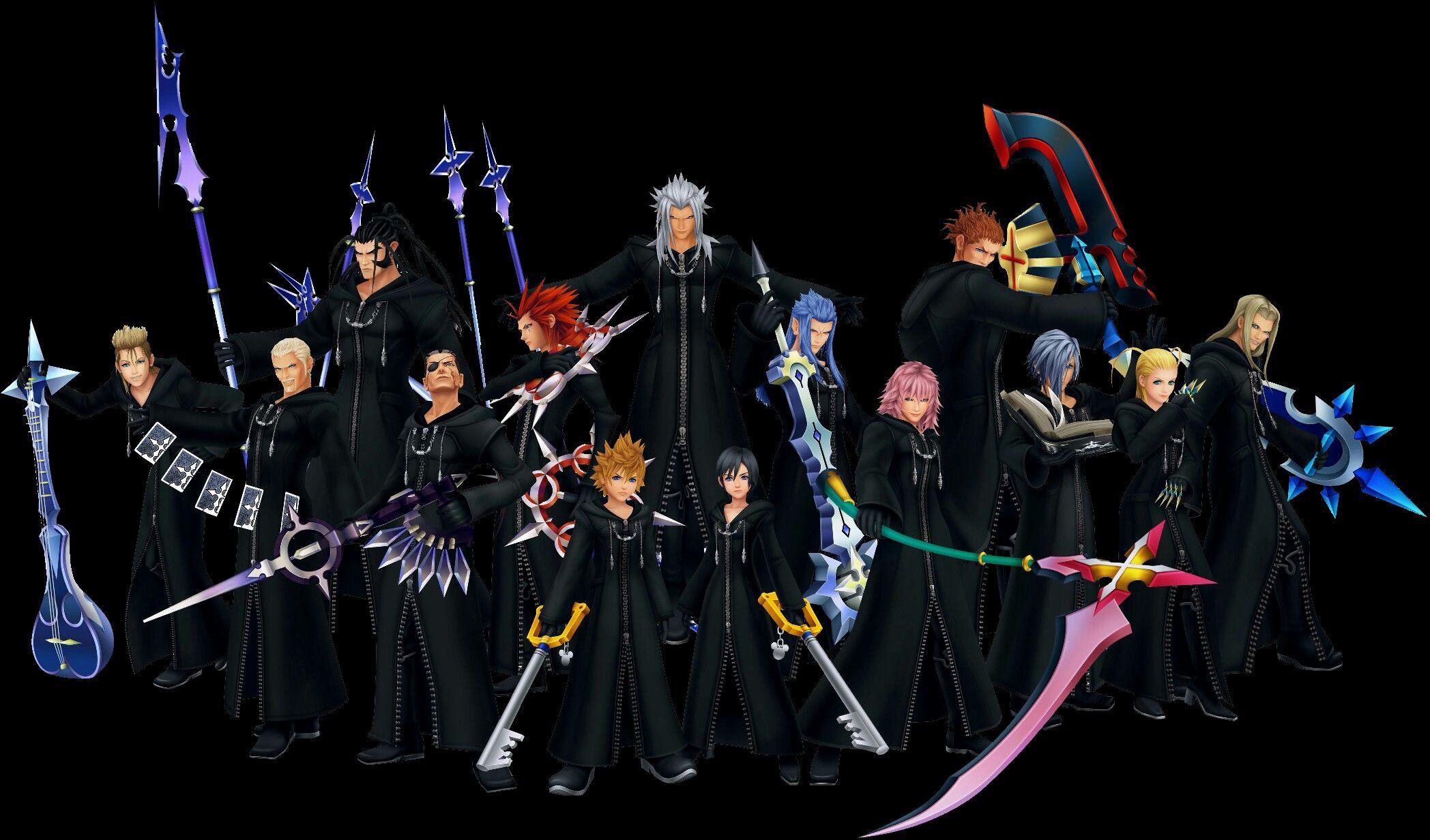 Organization Xiii Kingdom Hearts Kingdom Hearts Wallpaper Girl In Rain