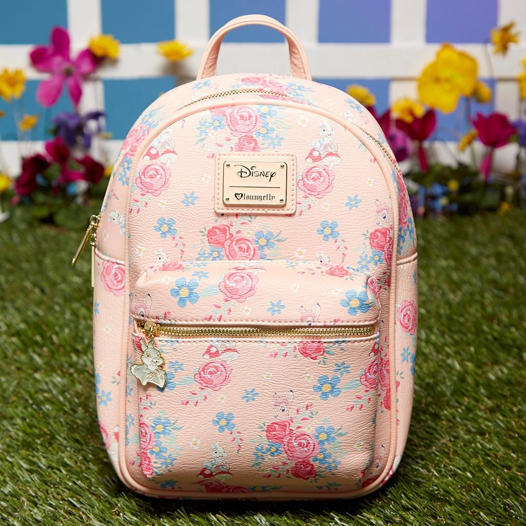 Loungefly Disney Bambi Floral Mini Backpack - BoxLunch Exclusive ... d8c8a7cf4f1cf