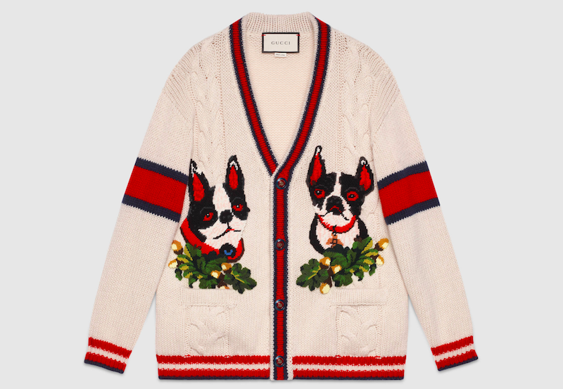 da1e8c6d1 Gucci Year of the Dog Collection | Fashion in 2019 | Cardigan ...