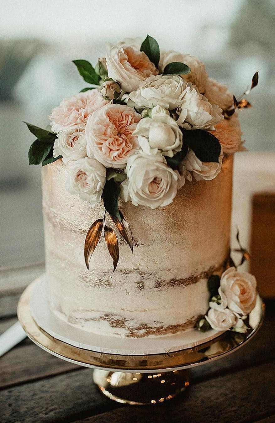 32 JawDropping Pretty Wedding Cake Ideas (With images