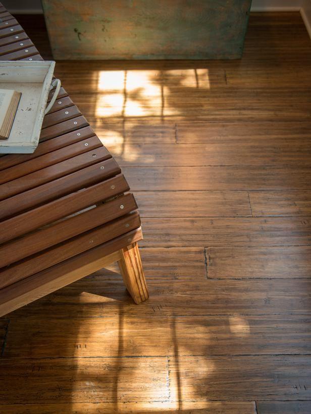 Pretty Hand Scraped Bamboo Flooring Design Ideas