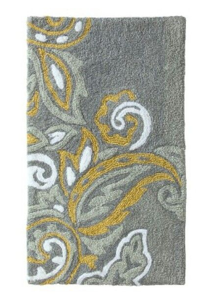Little Bathroom Inspiration Rug Grey And Yellow Keeping It Neat