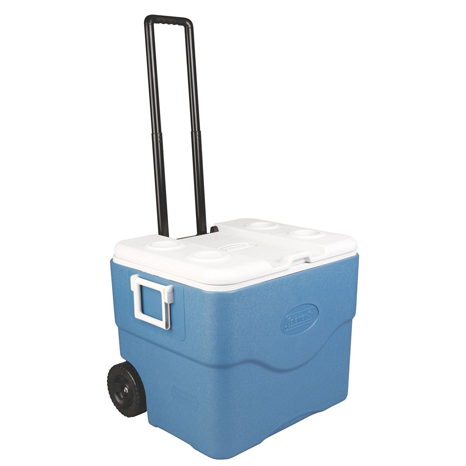 Amazon Com Coleman 75 Quart Xtreme Wheeled Cooler Sports Amp Outdoors Rolling Cooler Cooler Cooler Box