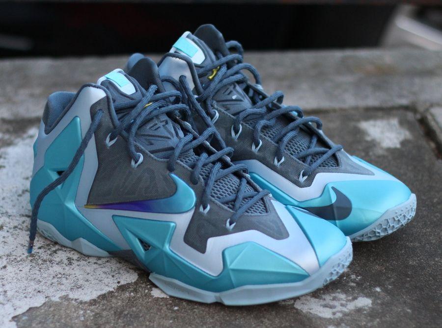 Nike LeBron 11 Gamma Blue - SneakerNews