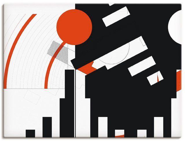 Art Print Poster »C. Bässler: Black and White meet Red Version « -  Canvas picture »C. Bässler: Black and White meet Red Version «  - #animalwallpaper #Art #bassler #Black #farmanimals #Meet #poster #print #red #version #white #wildanimals