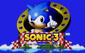 sonic 3 hd sonic the hedgehog pinterest