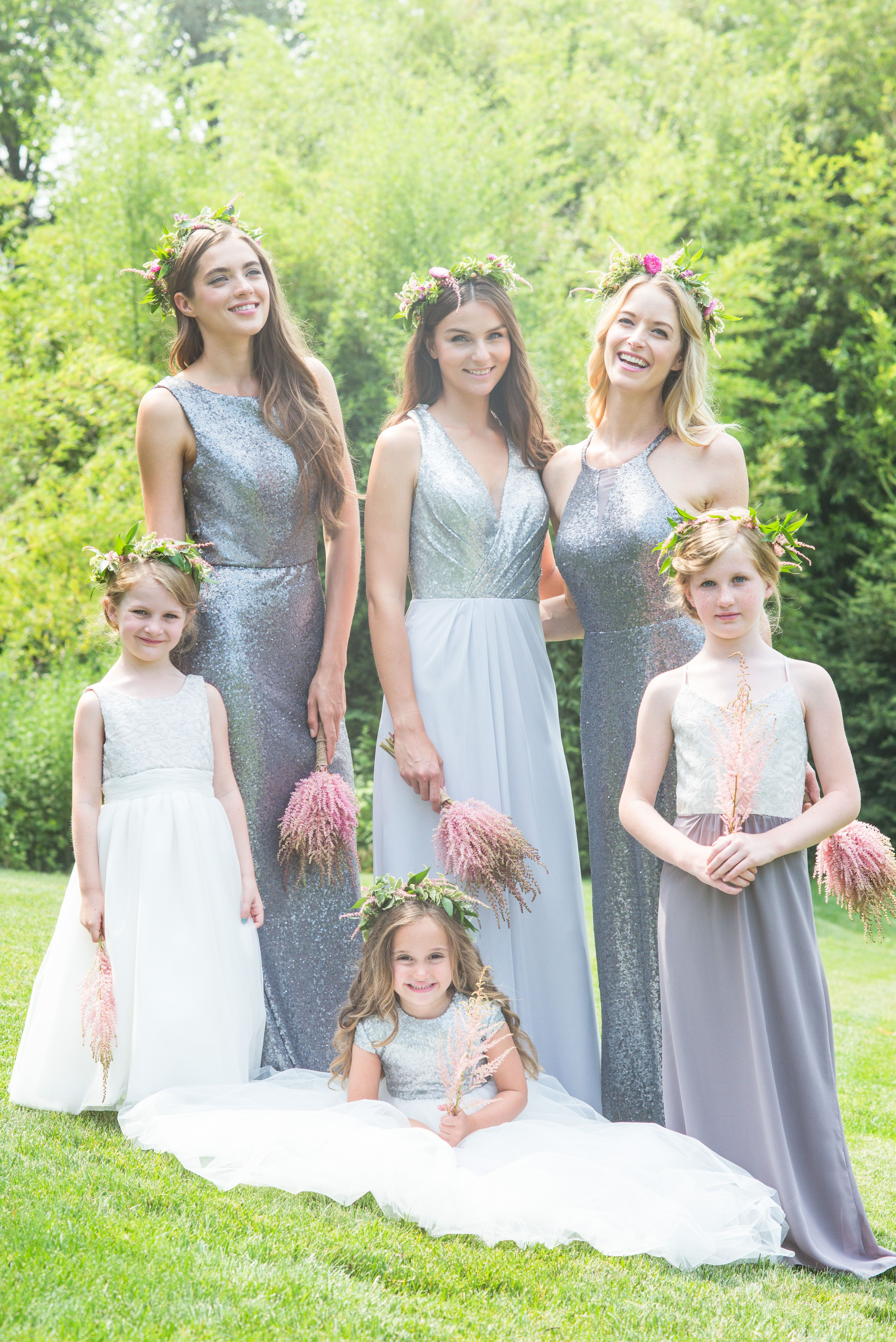 Newly engaged say hello to the perfect gowns for your girls bari