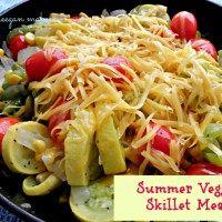 Summer Veggie Skillet Meal — MeeganMakes