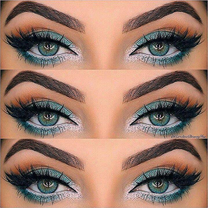 Photo of Wie Rock Make-up für grüne Augen & Make-up-Ideen, Tutorials – Frisuren Frauen