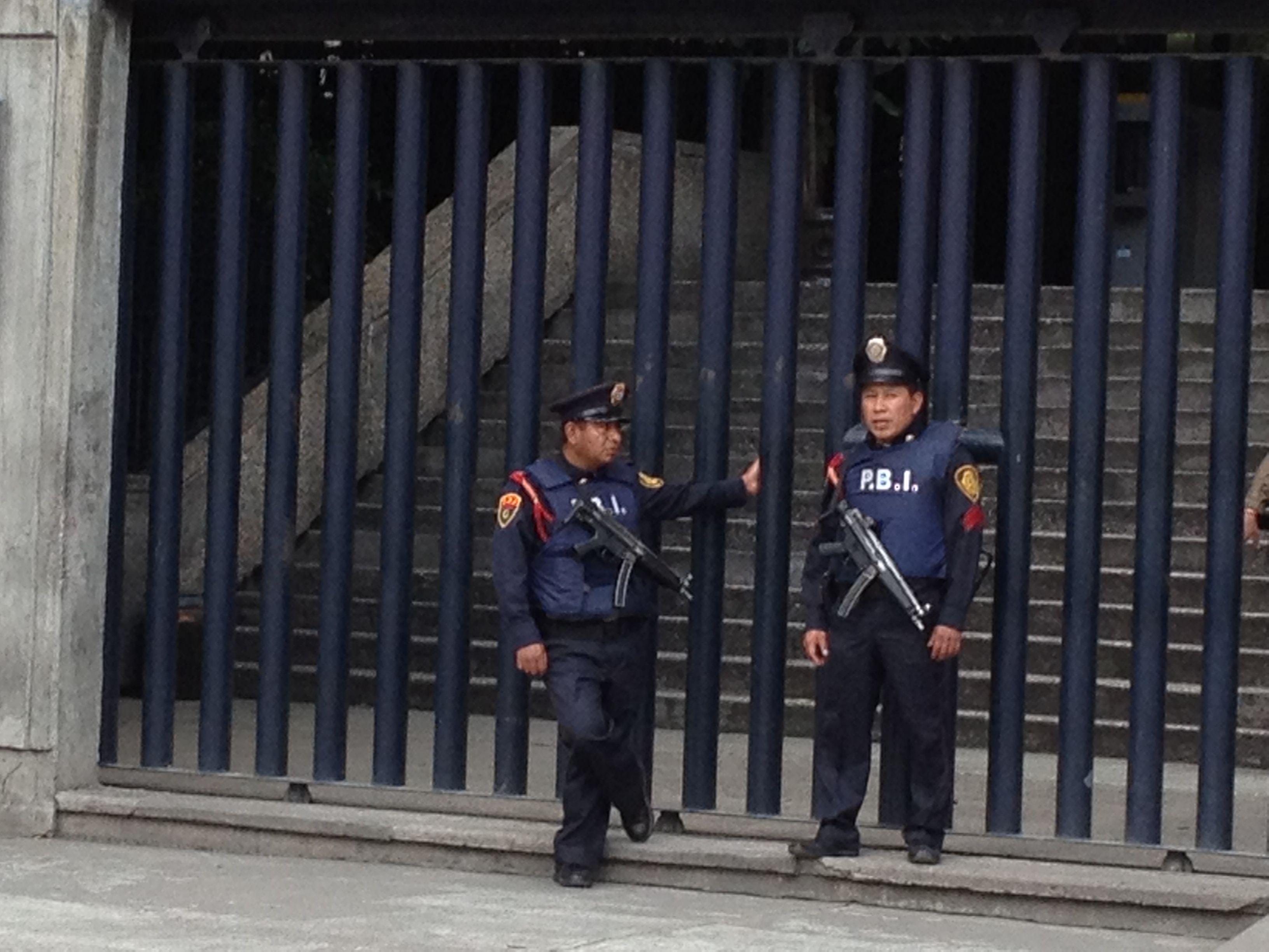 Policias del D.F.