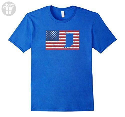 Mens Funny 4th of July Indiana T Shirt XL Royal Blue - Funny shirts (*Amazon Partner-Link)