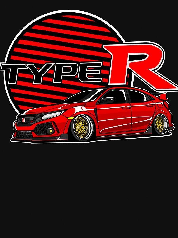 Honda Civic Type R Fk8 By Raisedingunma4 Vwtype4interior Honda Civic Type R Honda Civic Honda