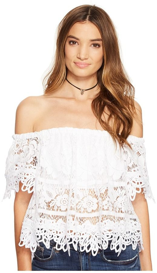 ab93945e92bfe Free People Sweet Dreams Lace Crop Top