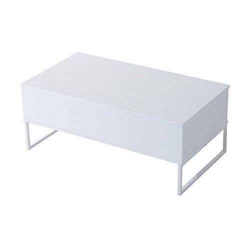 "HomCom 43"" Modern Lift-Top Coffee Table - White HOMCOM https://smile.amazon.com/dp/B01D3T07KW/ref=cm_sw_r_pi_dp_x_MMeyybBGD0H15"