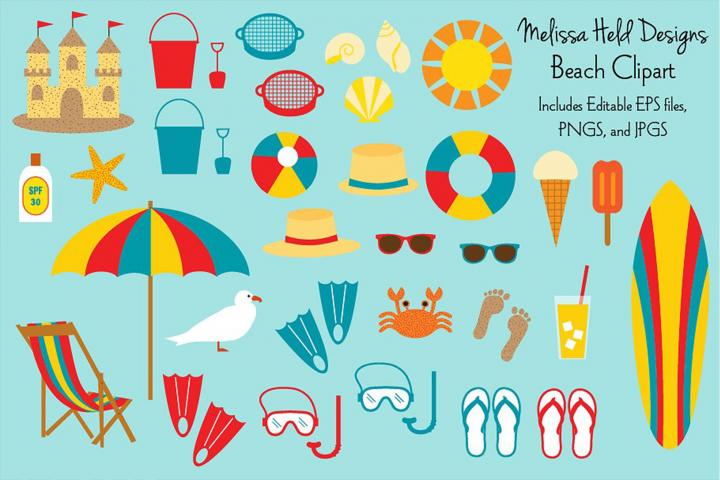 Beach Clipart Beach Clipart Clip Art Beach Logo