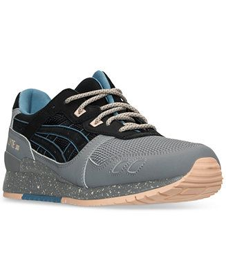 asics men's tiger gellyte iii casual sneakers from finish