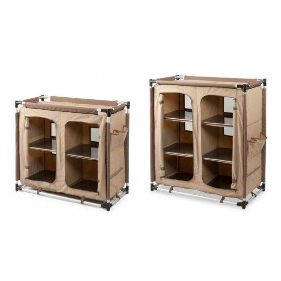 Bardani ripiani Comfort 2 camping armoire