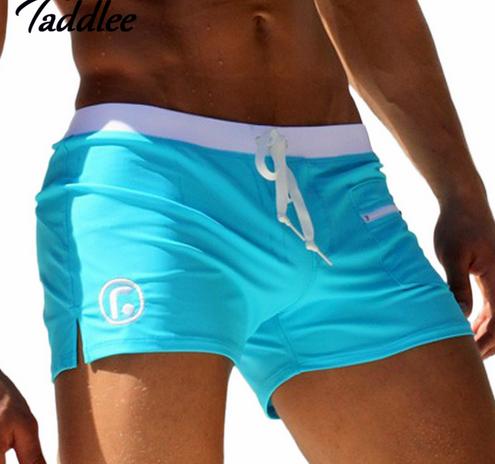 1fc2cf3dbb8 Men Swimwear Brand AQUX Men's Swimsuits Surf Board Beach Wear Man Swimming  Trunks Boxer Shorts Swim Suits Gay Pouch WJ