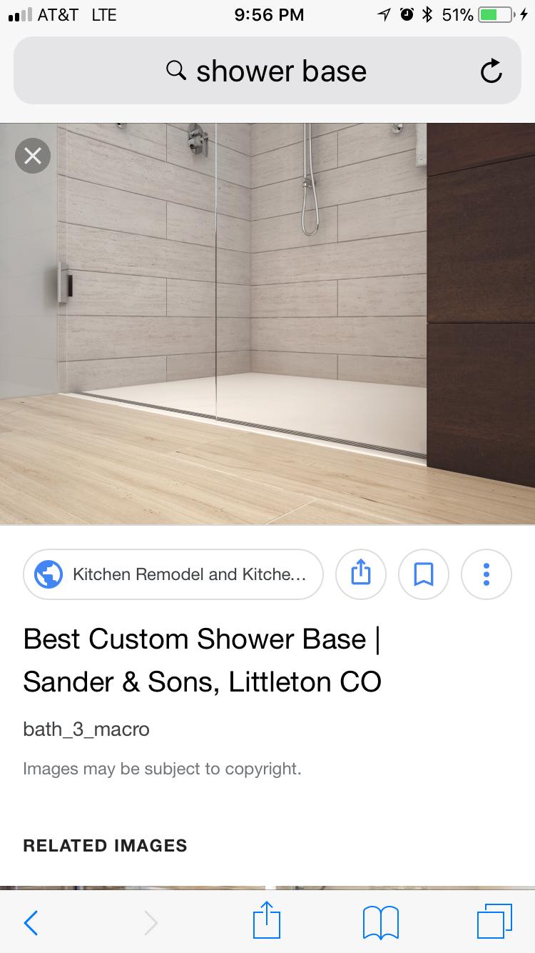 Pin By Melanie Bickham On Bathrooms Custom Shower Custom Shower Base Shower Base