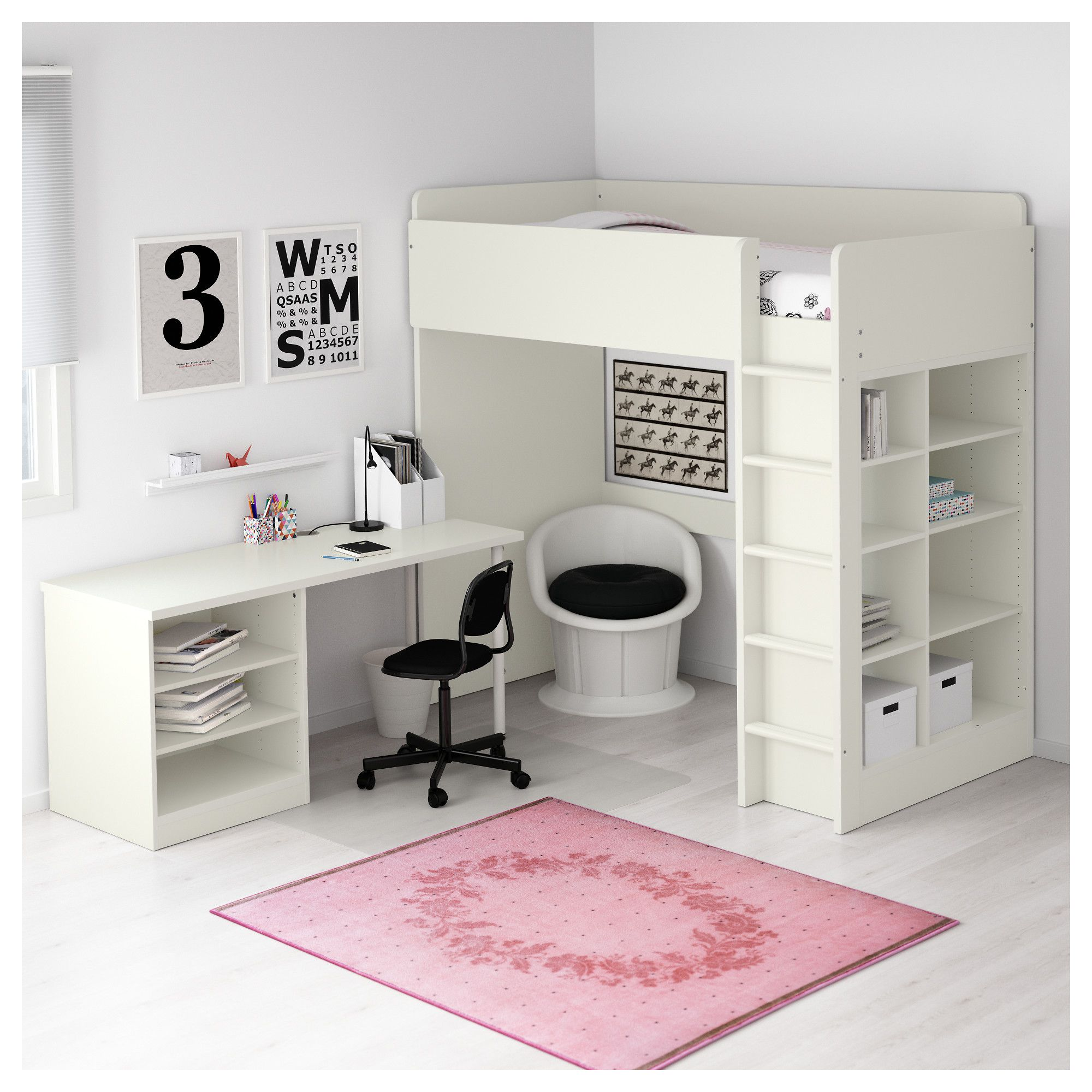 girls bedroom ideas designs cool desk bunk for bed combo sweet