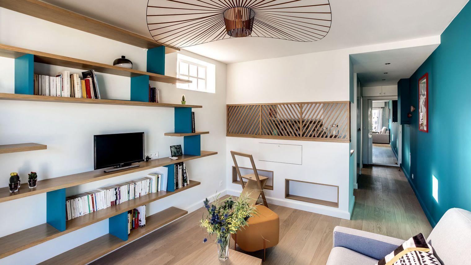 Un 30 m2 qui a tout d 39 un grand architecte interieur - Architecte interieur paris petite surface ...