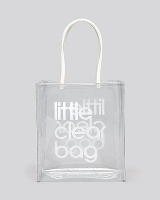 2c936dc66c45 Bloomingdale s Tote - Little Clear Bag