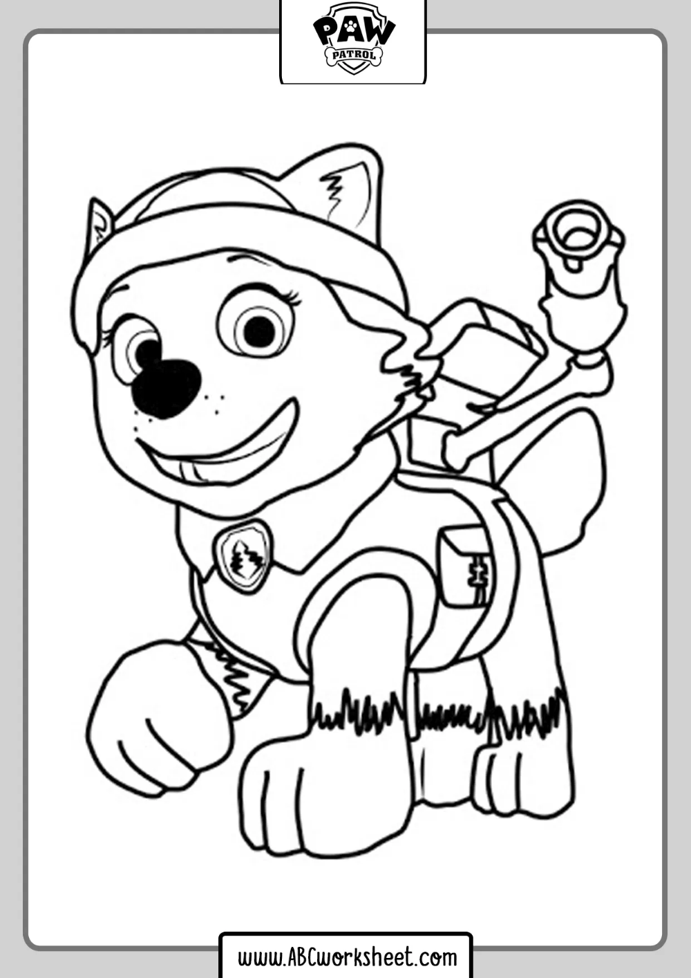 Printable Paw Patrol Drawings Paw Patrol Coloring Pages Paw Patrol Coloring Abc Coloring Pages [ 1414 x 1000 Pixel ]