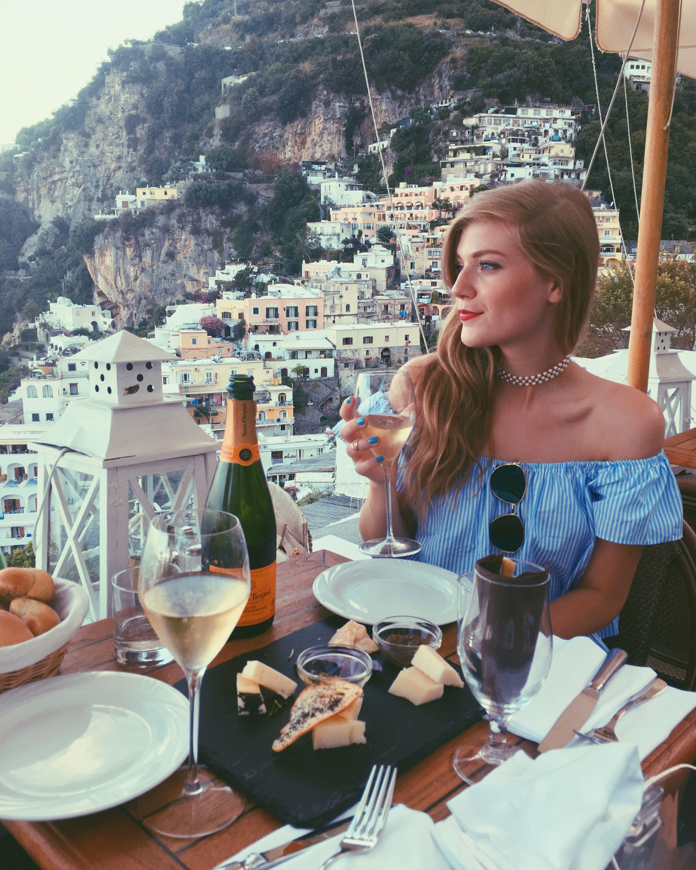 Best Romantic Restaurants In Rome Italy: Perfect Dinner In Positano Amalfi Coast, Italy. @syd.hoff
