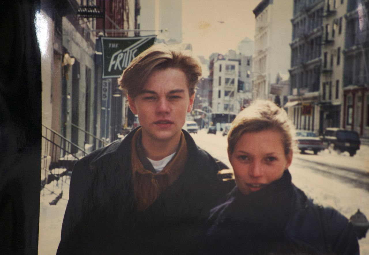 WHAT IS THIS WH  a young Leo and Kate.  Amazing,  perfect.  Love them so much