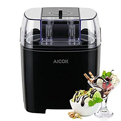 Pinterest aicok ice cream maker frozen yogurt and sorbet machine with timer function and recipe book forumfinder Gallery