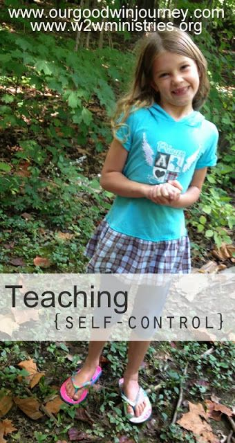 An easy tip for teaching kids self-control!  3 simple phrases to help children remember.  Nice post.