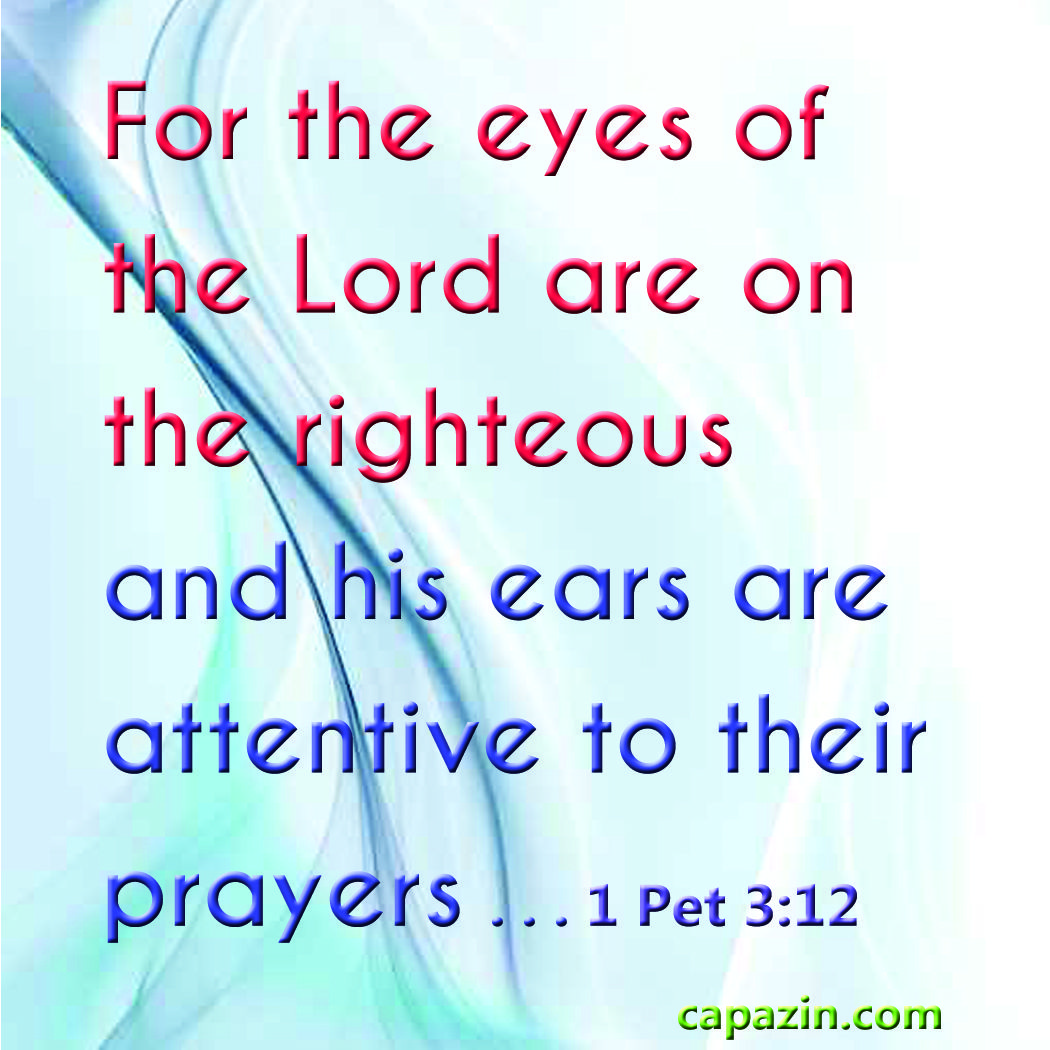 Righteous God Prayer Of Hears The The