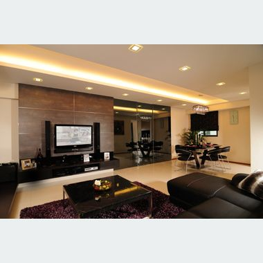 Luxurious Lving Area Designed By U Home Interior Design