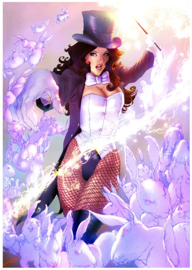 Zatanna Zatanna Dc Comics Dc Comics Dc Comics Wallpaper