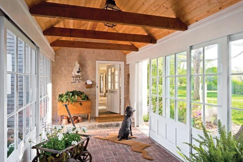 Enclosed Breezeway Ideas Preserving a Summer Home in