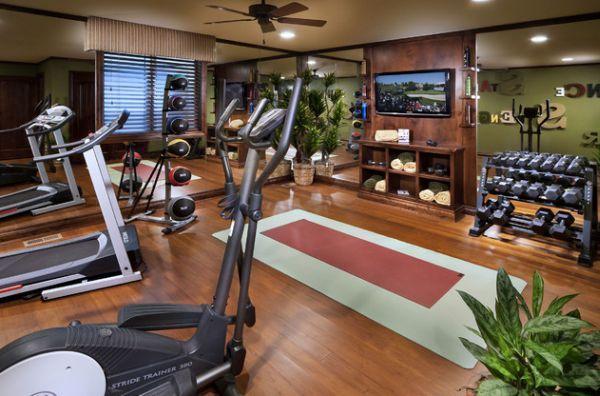 modernes-fitnessstudio-zu-hause-einrichten | Gym | Pinterest | Gym ...