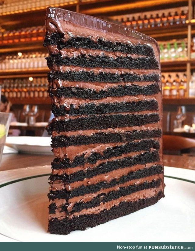 24 layer chocolate cake in all its glory   Woodworking ...