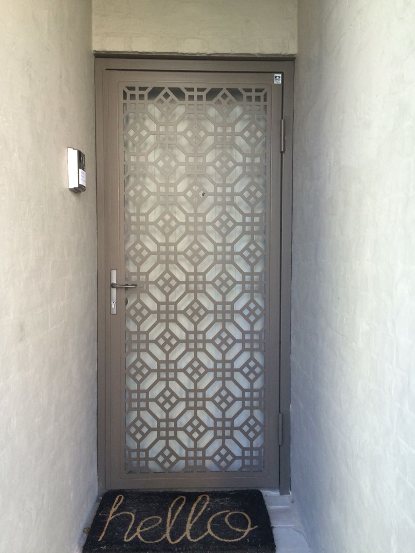 Laser Cut Door Made By Kings Security Doors Sydney