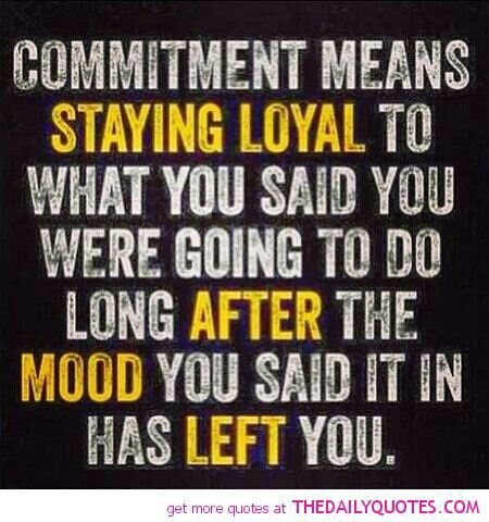 Staying Loyal...
