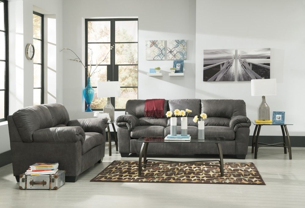 Astounding Bladen Slate Sofa Loveseat Living Room And Kitchen Gmtry Best Dining Table And Chair Ideas Images Gmtryco