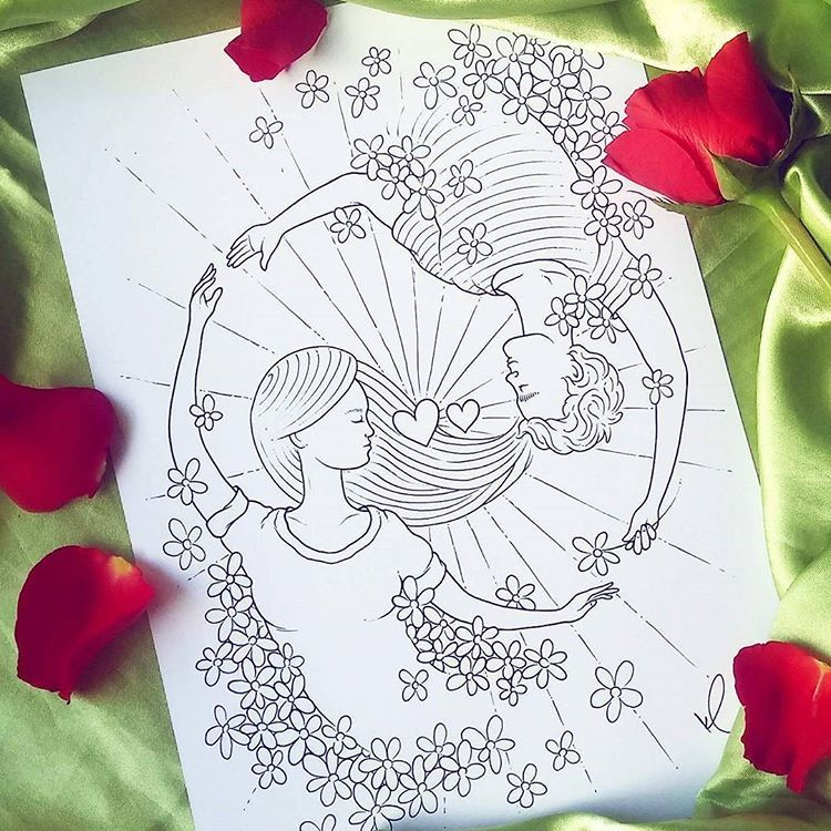 Valentine S Day Coloring Page Hey Is Just Around The Corner So I Made This For