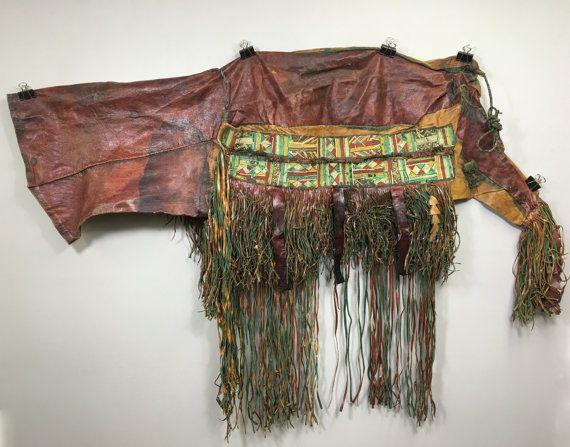 Saddlebag Tuareg Leather Mali  Leather Brown by WorldofBacara