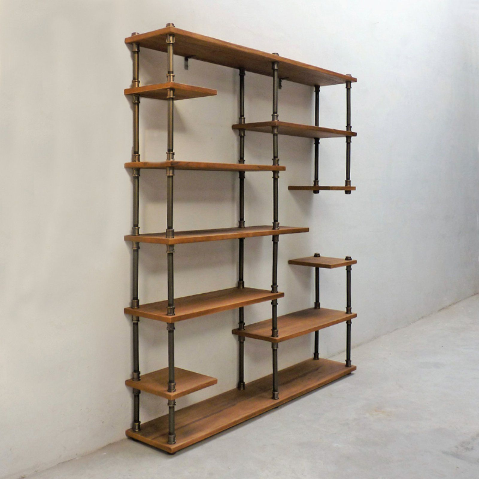 Home With Images Etagere Bookcase Vintage Industrial