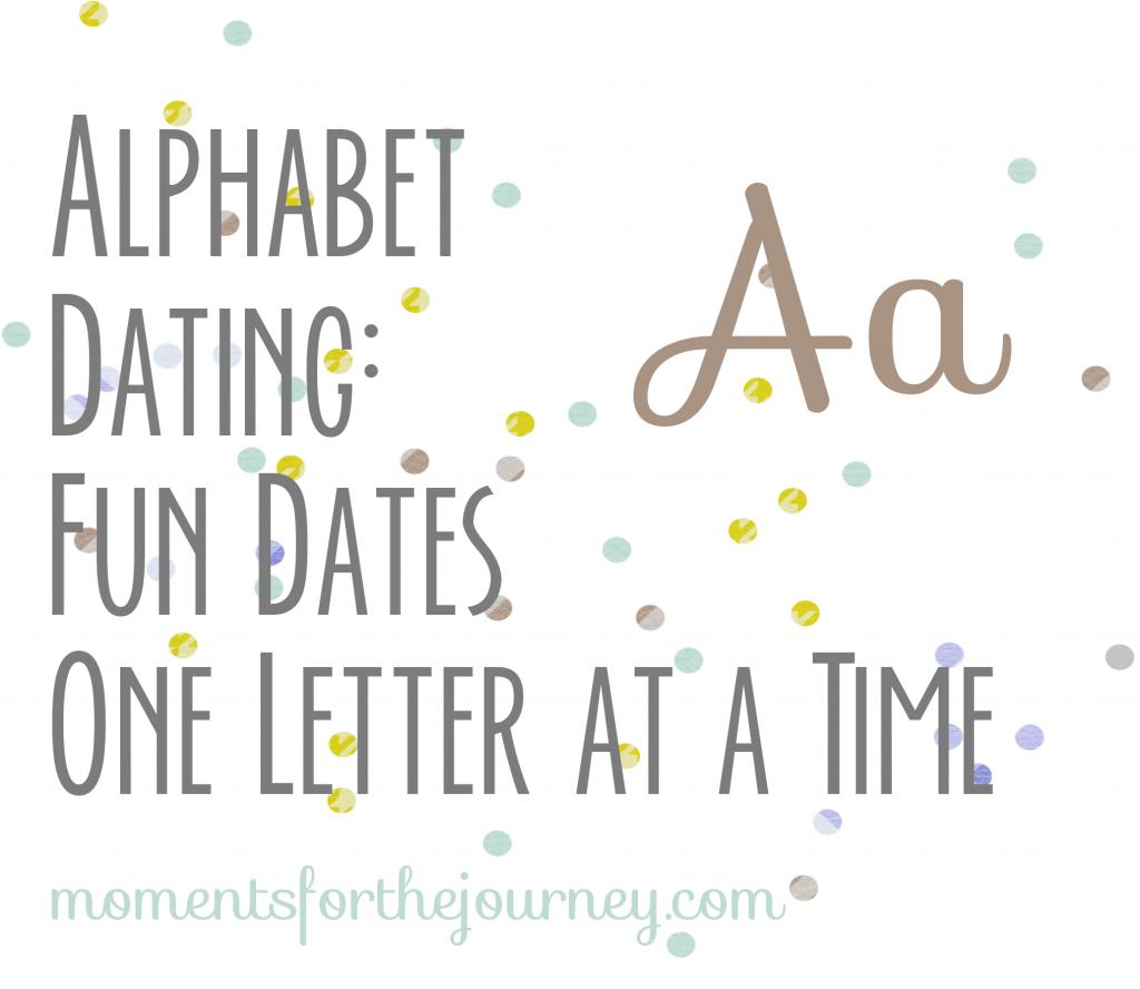 Alphabet Date Letter A
