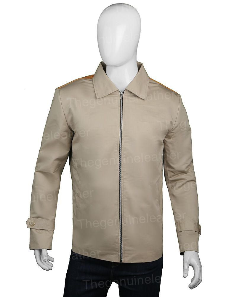John Dutton Yellowstone Beige Jacket The Genuine Leather Beige Jacket Jackets Western Wear [ 1000 x 800 Pixel ]
