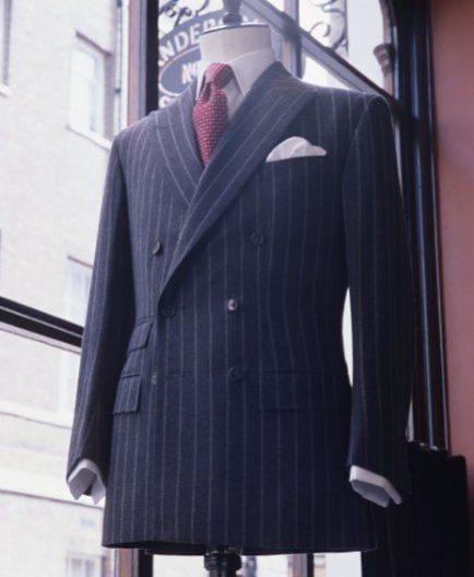 Custom suit from Savile Row tailors? Yes Please!